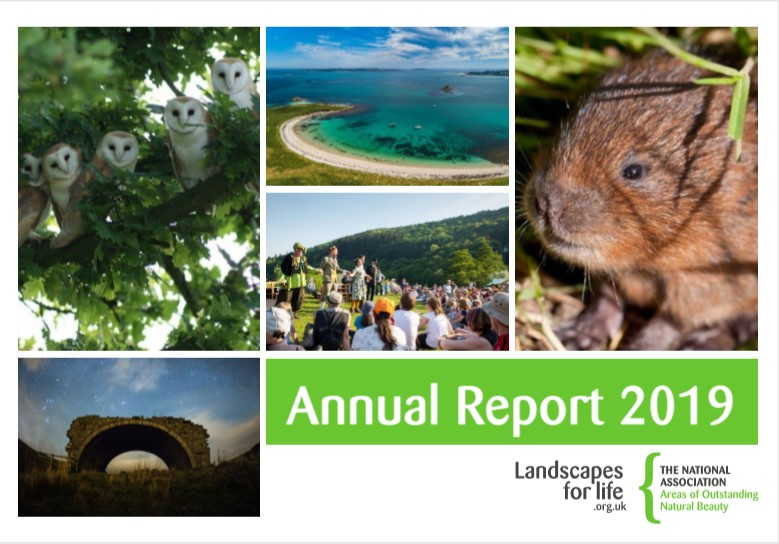 National Association for AONBs Annual Report 2019
